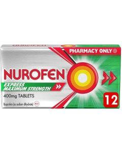 Nurofen Express Maximum Strength - 12 Tablets