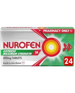 Nurofen Express Maximum Strength 400mg 24 Tablets
