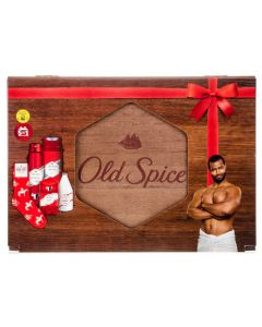 Old Spice Original Deodorant Spray & Shower Gel 5 Piece Gift Set