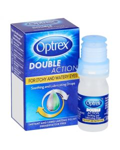 Optrex Double Action Soothing and Lubricating Drops 10ml