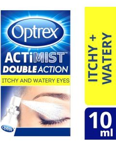 Optrex Actimist Double Action Spray 10ml Itchy & Watery Eyes