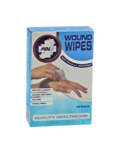 Wound Wipes 10 Pack