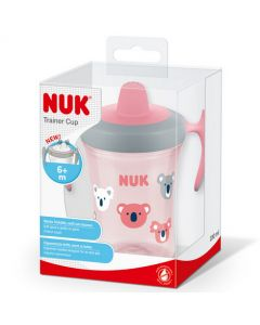 NUK Evolution Trainer Cup Pink 230ml 6m+