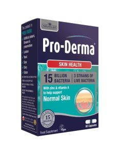 Natures Aid Pro-Derma 15 Billion Bacteria 60 Capsules