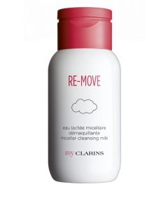 My Clarins RE-MOVE Micellar Cleansing Milk All Skin Types 200ml bottle