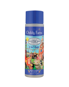 Childs Farm 2 in 1 Hair Shampoo & Conditioner Rhubarb and Custard