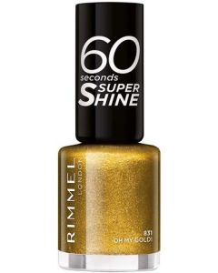 Rimmel 60 Seconds Super Shine Nail Polish - Oh My Gold!