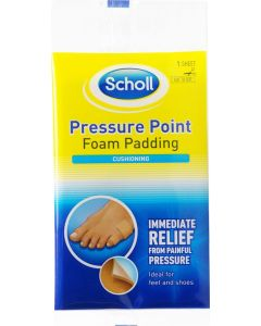 Scholl Pressure Point Foam Padding Cushioning