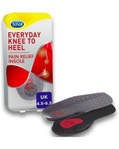In-Balance Orthotics Everyday Knee to Heel Pain Relief Insole