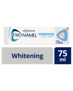 Sensodyne Pronamel Whitening Toothpaste Enamel Care Gentle Whitening 75ml