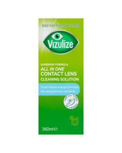 Vizulize All in One Contact Lens Cleaning Solution 360ml