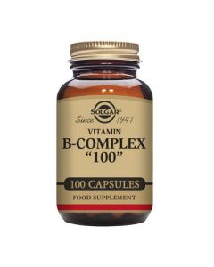 Solgar Vitamin B-Complex Extra High Potency Vegetable Capsules 100s