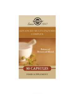 Solgar Advanced Multi-Enzyme Complex Vegetable Capsules 90's