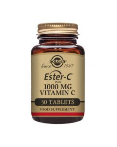Solgar Ester-C Plus 1000 mg Vitamin C Tablets - Pack of 30