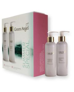 Green Angel Summer Promo Set - Body Lotion and Argon Oil