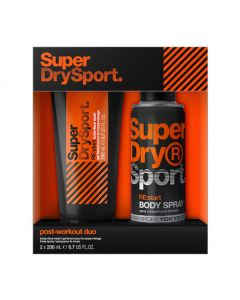 SuperDry Post Workout Duo Gift Set