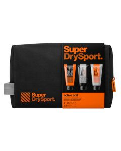 SuperDry Sport Active Edit Body and Face Gift Set