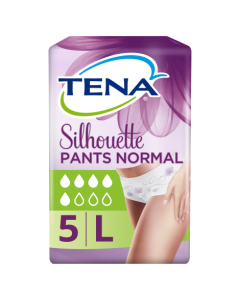 Tena Lady Silhouette Normal Pants Large 5 Pack