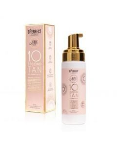 Mrs Glam 10 Second Tan Peach Scented Mousse - Dark 175ml