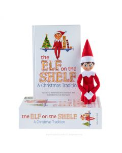 The Elf on the Shelf Christmas Tradition with Boy Scout Elf