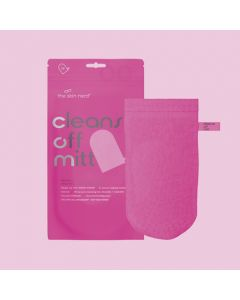 The Skin Nerd Limited Edition Pink Cleanse off Mitt