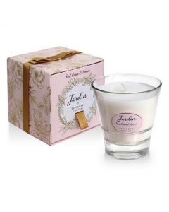 Tipperary Crystal Jardin Candle Red Roses & Lemon