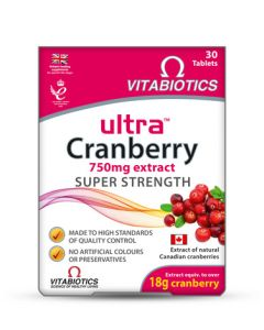 Vitabiotics Ultra Cranberry 750 mg extract Super Strength
