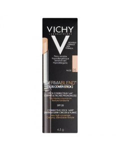 Vichy Dermablend SOS Cover Stick 16HR (25) Nude 4.5g
