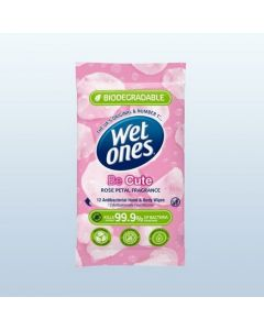 Wet Ones Be Cute Biodegradable Wipes 12s