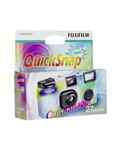 Fujifilm QuickSnap Disposable Single Use Flash Camera 27 Photos
