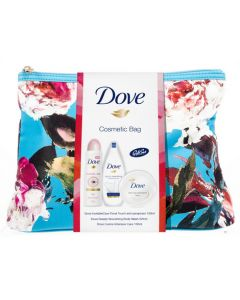 Dove Cosmetic Bag - Blue