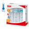 NUK First Choice + Temperature Control Blue Triple Set