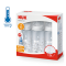 NUK First Choice + Temperature Control White Triple Set
