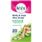 Veet Wax Strips Natural Inspirations All Skin Types Body & Legs