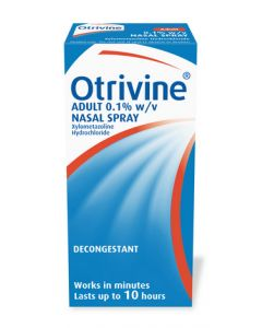 Otrivine Decongestant Adult 0.1% Nasal Drops 10ml