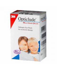 3M Opticlude Standard Eye Patches 5.7cm x 8cm - Pack of 20