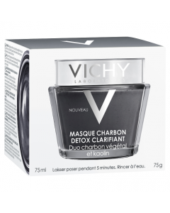Vichy Clarifying Detox Charcoal Mask 75ml