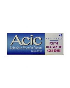 Acic Cold Sore Cream 2g