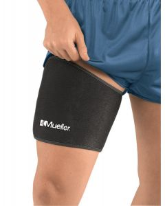 Mueller Adjustable Thigh Support Black