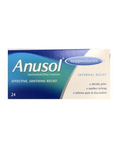 Anusol Suppositories 24