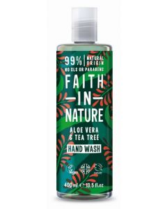Faith in Nature Handwash 400ml-Aloe Vera & Tea Tree