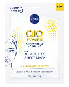 Nivea Q10 Power Firming Sheet Mask Front