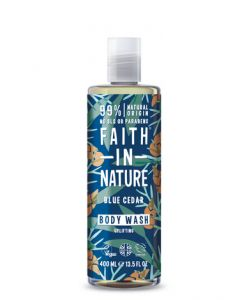 Faith in Nature Body Wash 400ml-Blue Cedar