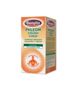 Benylin Phlegm Cough Syrup 125ml