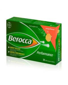 Berocca Performance Effervescsent 30 - Orange