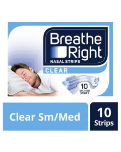 Breathe Right Nasal Strips-Small/Medium