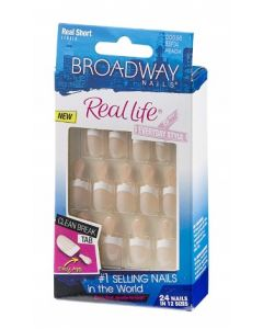 Broadway Nails Real Life Short - Pink