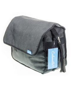 Caboodle Classic Grey Baby Changing Bag
