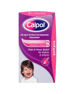 Calpol 2+ Months With Dosing Syringe 60ml