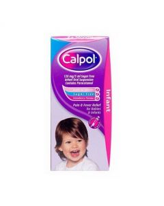 Calpol Infant Suspension Paracetamol Sugar Free 60ml